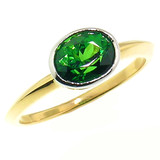 Chrome Tourmaline Paloma Ring by Cynthia Scott Jewelry