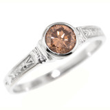 Brown Diamond Cassandra 18kt Ring by Dan Peligrad for Cynthia Scott Jewelry