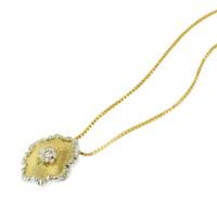 Piccola Diamond & 18kt Necklace
