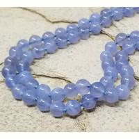 Chalcedony & 18kt Double Strand Necklace by Cynthia Scott Jewelry