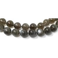 Gray Moonstone & 18kt Necklace by Cynthia Scott Jewelry
