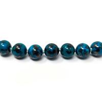 Shattuckite & 18kt Necklace by Cynthia Scott Jewelry