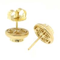 Rhodolite Garnet Bianca 18kt Earrings made in Italy by Cynthia Scott Jewelry