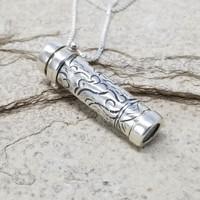 Phoenix Kaleidoscope Necklace by Deborah & Kevin Healy