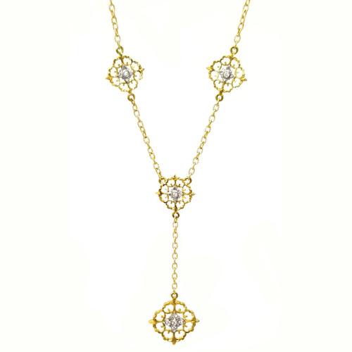 Vittoria Diamond Necklace