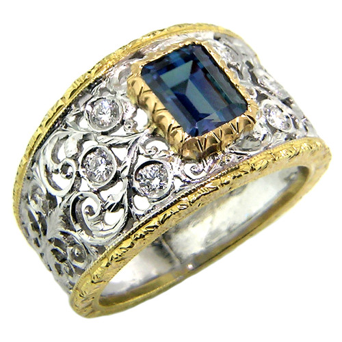 Alexandrite Contessa Ring