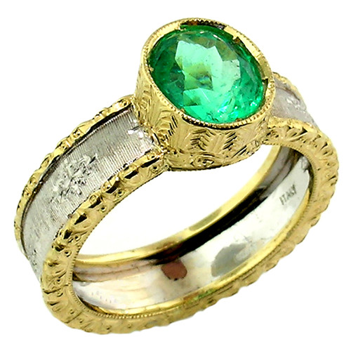 Emerald Sienna Ring