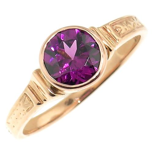 Purple Garnet Cassandra Ring