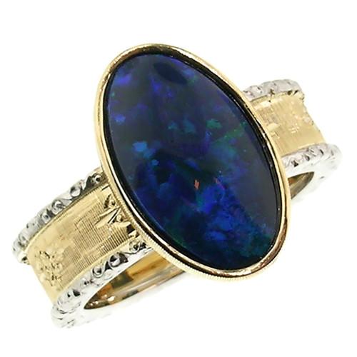 Black Opal Sienna Ring