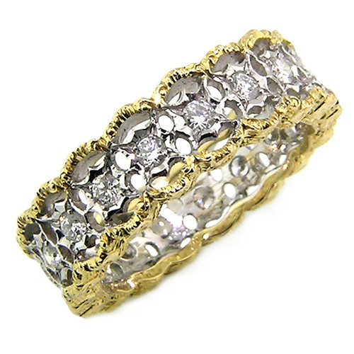 Stefania Diamond Eternity Band