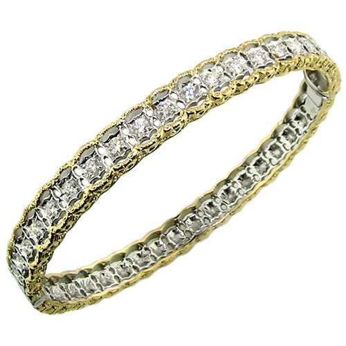 Stefania Diamond Bangle