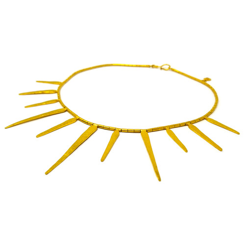 Gurhan 24kt Sunray Necklace