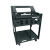 """33"""" Width Lectern Tur Frame with Work Surface 12u"""