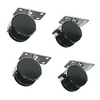 RKW Casters Kit for Middle Atlantic MBRK Laminate Racks