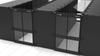 AisleLok 10163-48u Bi-Directional Server Aisle Containment Doors