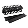 5 Pack Double Finger Duct Plastic Cable Manager