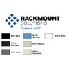 Rackmount Solutions FRS772042   Color Options
