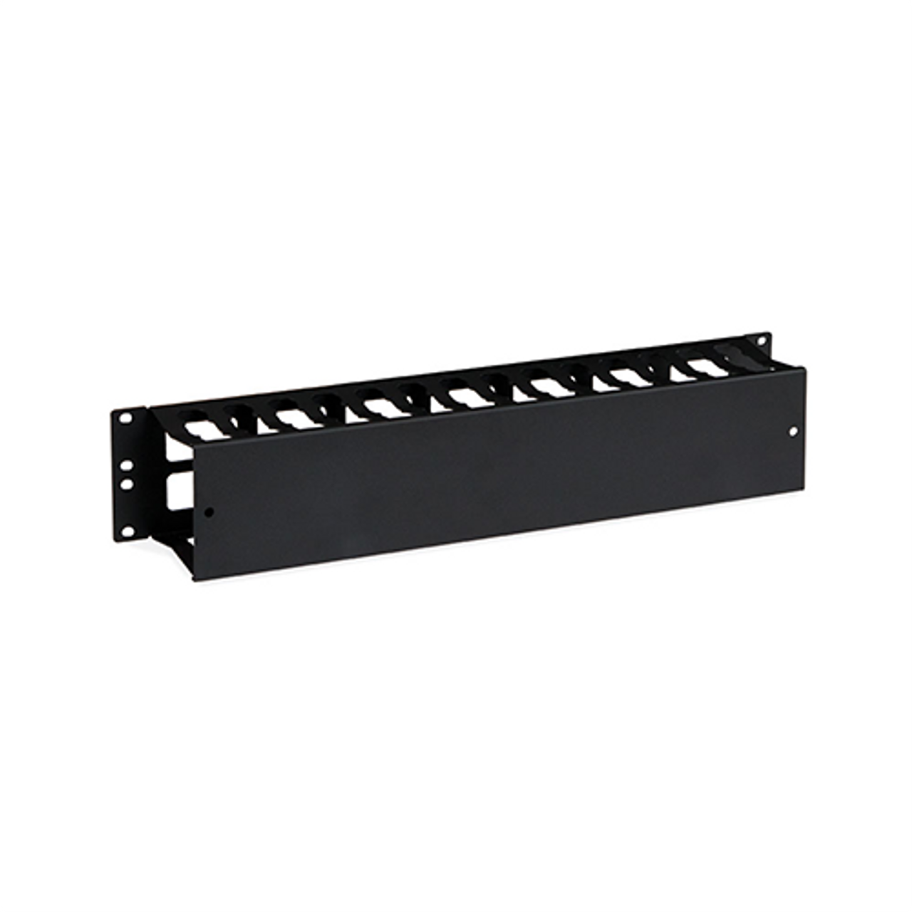 Racks, Chassis & Patch Panels Horizontal Rack Mount Cable Management Bracket 1u With 4 D-rings 4-inches Deep Rackmount Cabinets & Frames