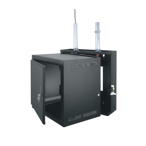 "10u 15""D Swinging Wall Mount Rack"