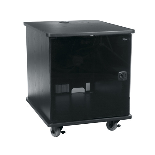12u Portable Rack - Dark Cherry