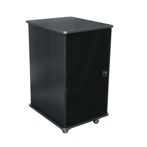20u Portable Rack - Dark Cherry
