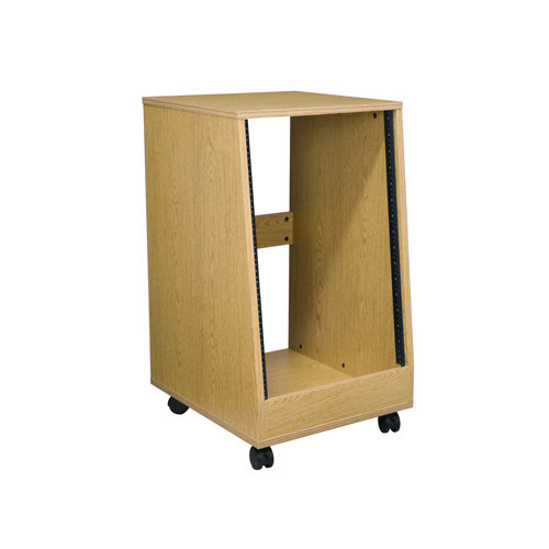 16u Oak Laminate Sloped Rack