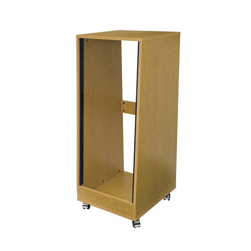 24u Oak Laminate Sloped Rack