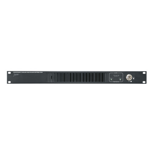10 Outlet Horizontal Rackmount PDU/Fan
