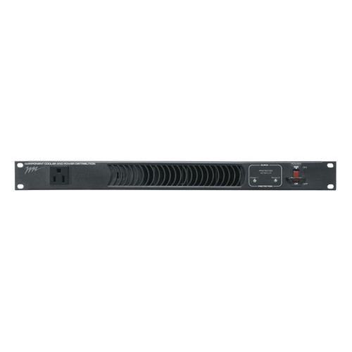 11 Outlet Horizontal Rackmount PDU/Fan