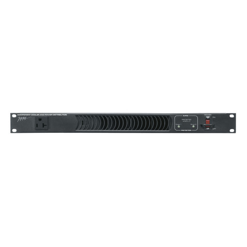 11 Outlet Horizontal Rackmount PDU/Fan 2-Stage Surge