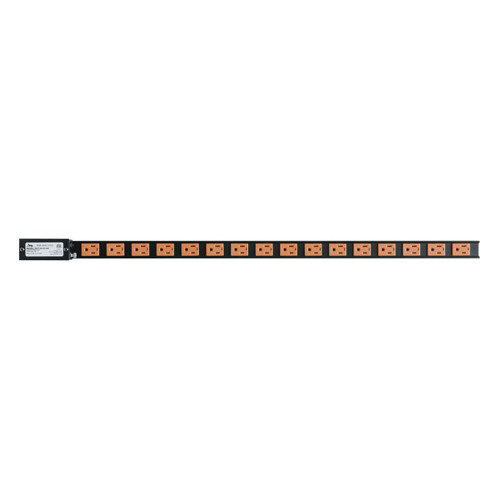 15 AMP Vertical Power Strip, 16 Outlets