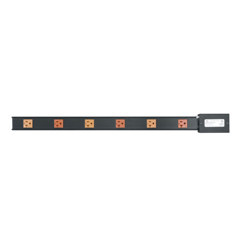 20 AMP Power Strip, 6 Outlets