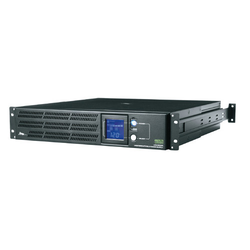 2u Horizontal UPS, 2150VA/1650W, 2 Outlets Hardwired Web Enabled