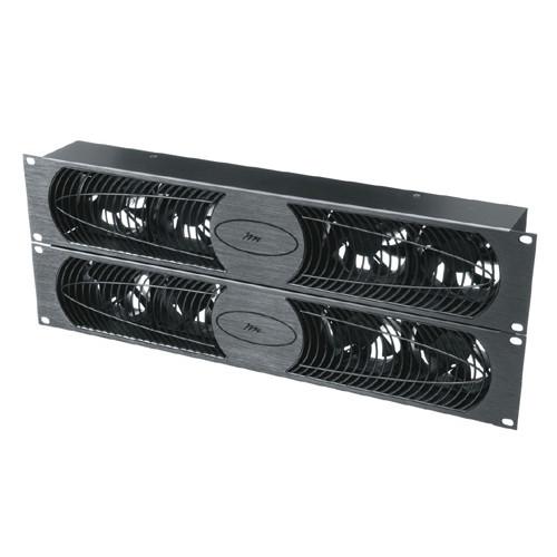 100 CFM 30 dB Fan Panel Anodized