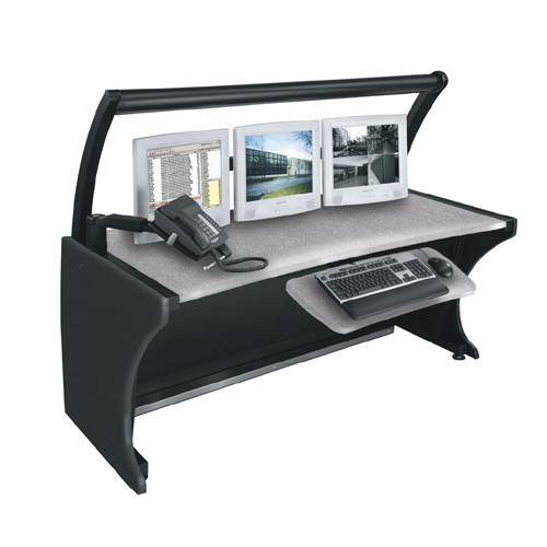"""64"""" LCD Monitoring Desk Pepperstone"""