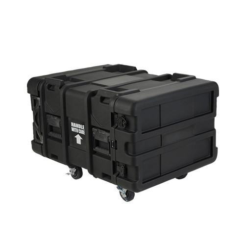 "6U 24""D Roto Shockmount Rack Case SKB"