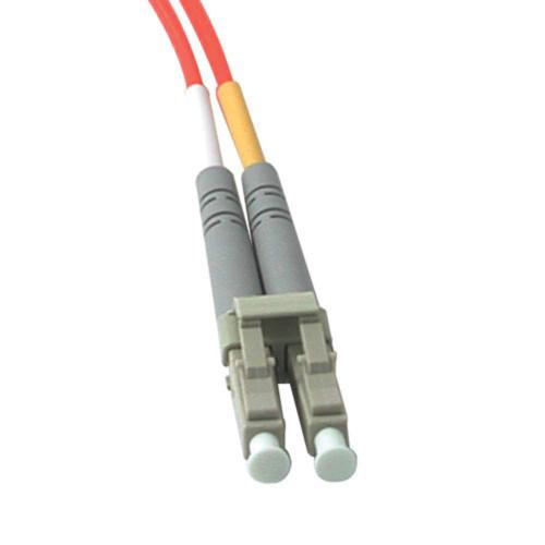 3m LC-LC 62.5/125 OM1 Duplex Multimode PVC Fiber Optic Cable - Orange
