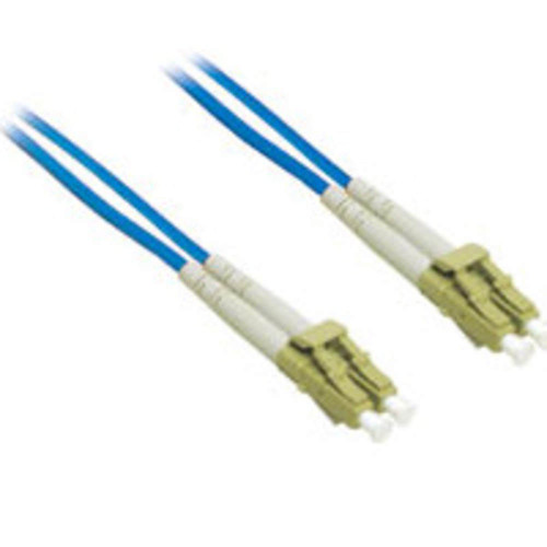 1m LC-LC 62.5/125 OM1 Duplex Multimode PVC Fiber Optic Cable - Blue