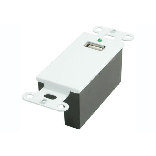 USB 1.1 Over Cat5 Superbooster Extender Wall Plate Kit