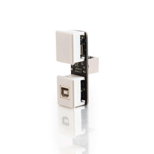 USB 1.1 Over Cat5 Superbooster Extender Keystone Insert Transmitter