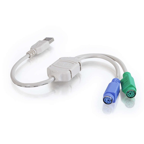 1ft USB to PS/2 Keyboard/Mouse Adapter Cable