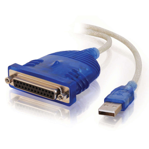 6ft USB to DB25 Parallel Printer Adapter Cable