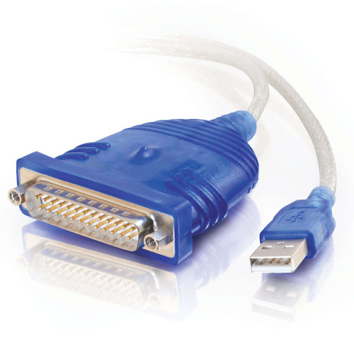 6ft USB to DB25 Serial RS232 Adapter Cable