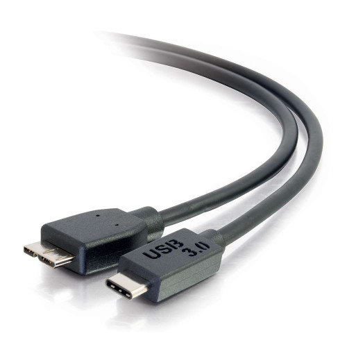 10ft USB 3.0  USB-C to USB Micro-B Cable M/M - Black