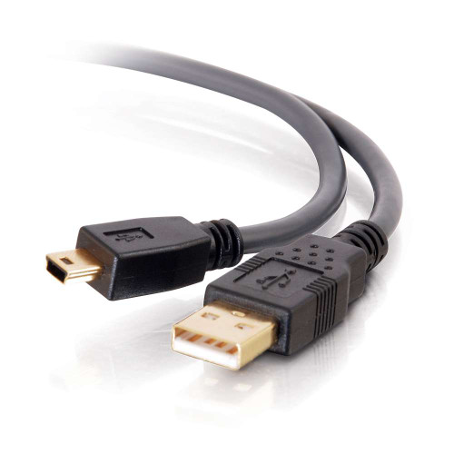 2m Ultima USB 2.0 A to Mini-B Cable