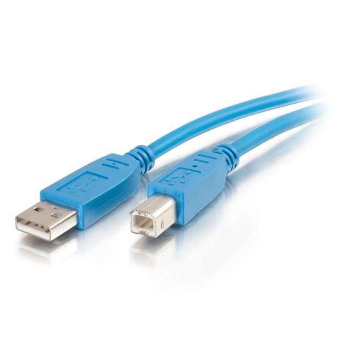3m USB 2.0 A/B Cable - Blue