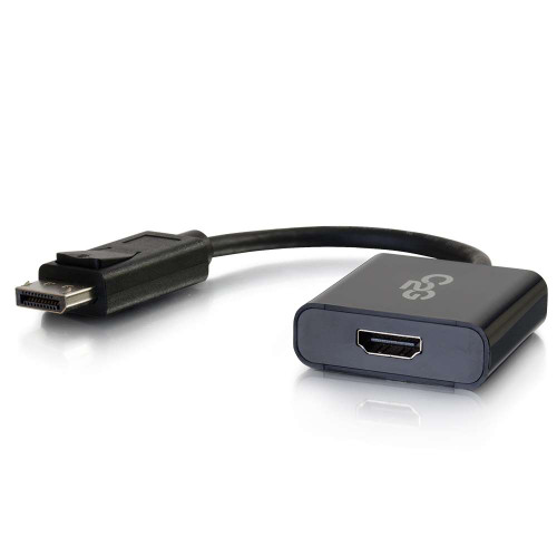 4K DisplayPort to HDMI Active Adapter Converter - Black
