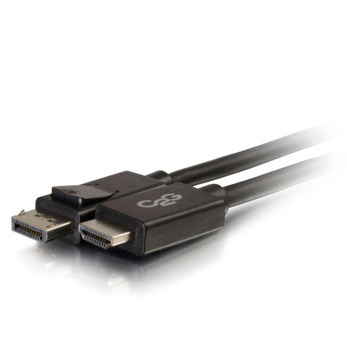 6ft DisplayPort Male to HD Male Adapter Cable - Black (TAA Compliant)