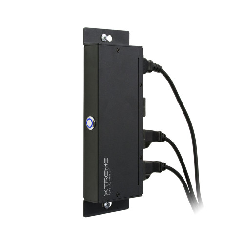 10A 120V Ultra-Slim Surge PDU J40 Xtreme Power Conversion