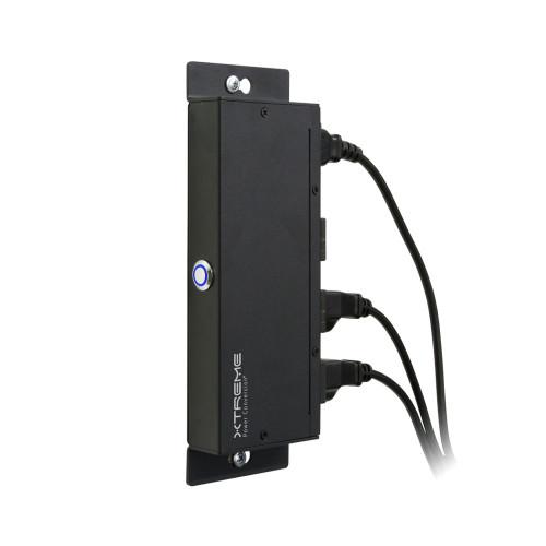10A 120V Ultra-Slim Surge PDU J40 Xtreme Power Conversion